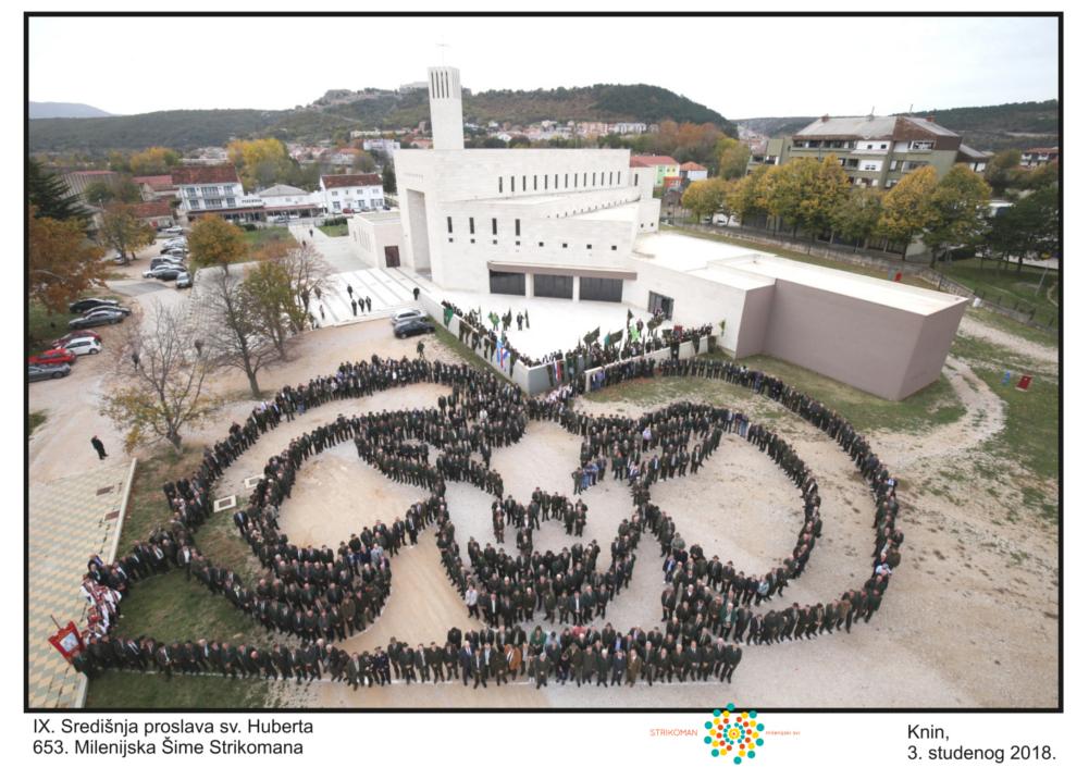 PROSLAVA SVETOG HUBERTA U KNINU 03.11.2018.